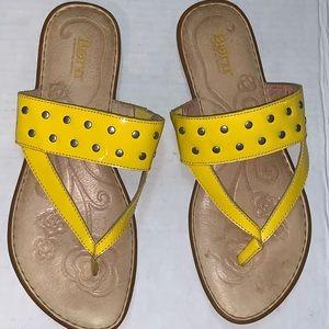 Born leather sandals Size -9